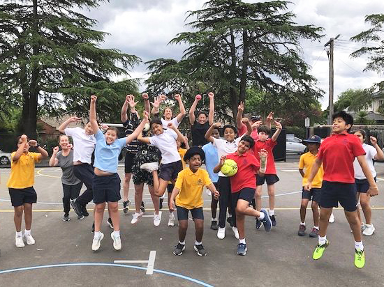 Year 6 jump for joy!