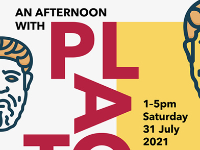 An Afternoon with Plato – Saturday 31 July 1.00-5.00pm