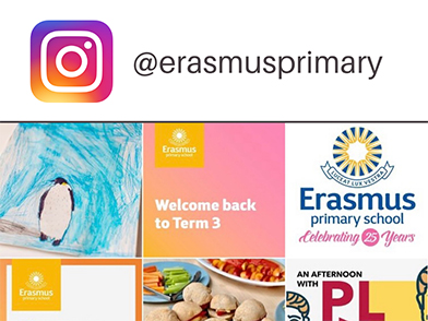 Erasmus is on Instagram!